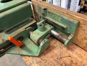Missing clamp bolt and handle
