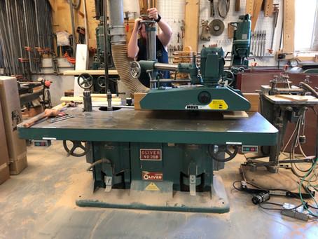 Holz 6 Wheel Power Feeder