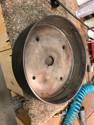 Counter shaft drive pulley