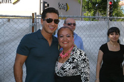 Ms. Amy and Mr. Lopez
