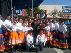 Mario Lopez and Group