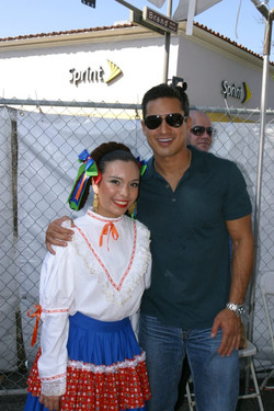 Arielle and Mr. Lopez