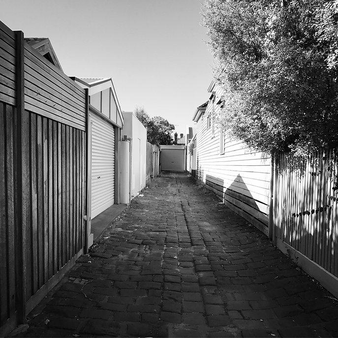 A melbourne alleyway, 2017