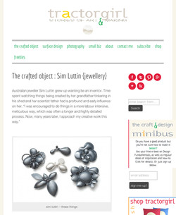 The Crafted Object - Sim Luttin