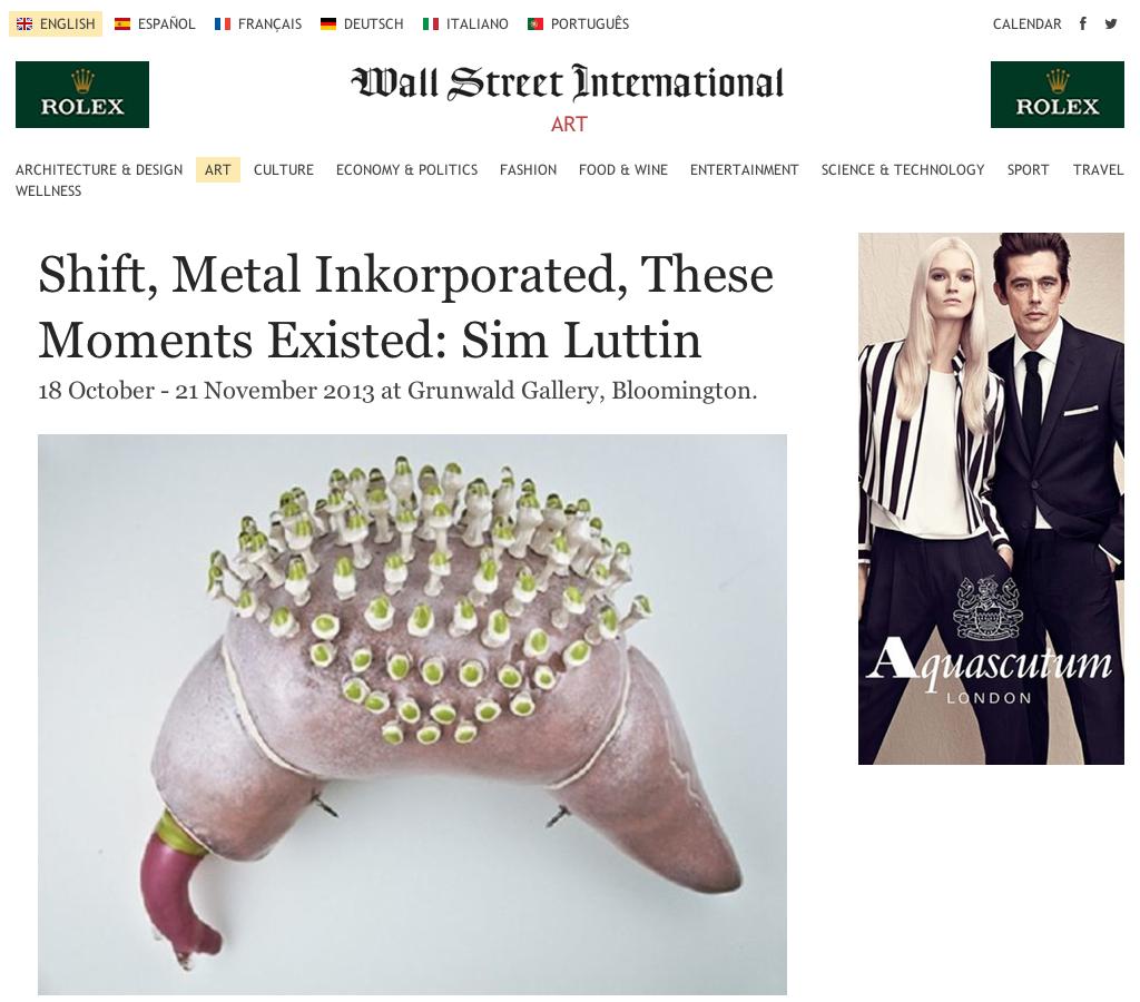 Wall Street International