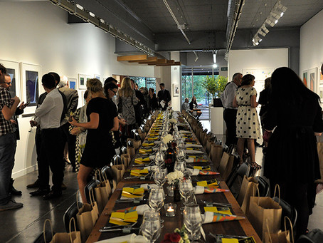 DINING WITH ART WAS SPECTACULAR!