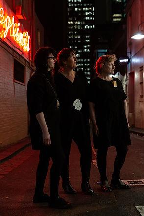 Full Circle: Sim Luttin, Katrina Tyler and Linda Hughes, Melbourne, 2019