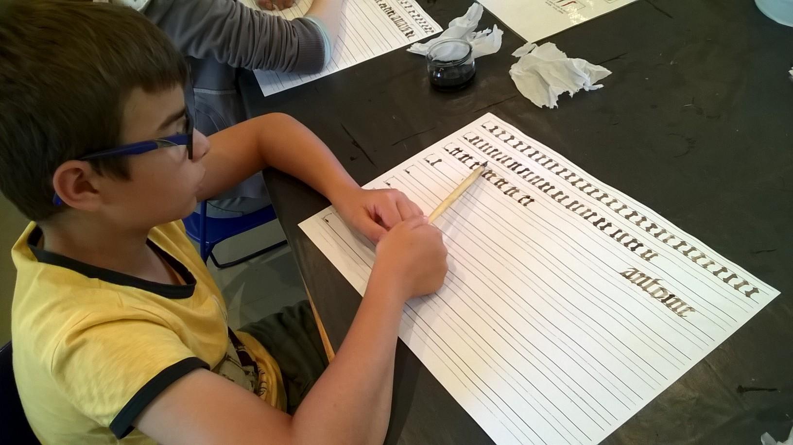 calligraphie CM2