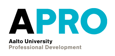 Aalto University Professional Development logo