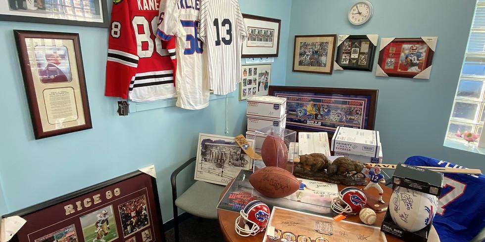 Sammy V Sports Memorabilia Auction