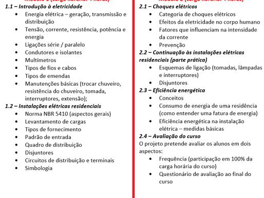 Inscrição para projeto de extensão em escolas publicas Cuiabá