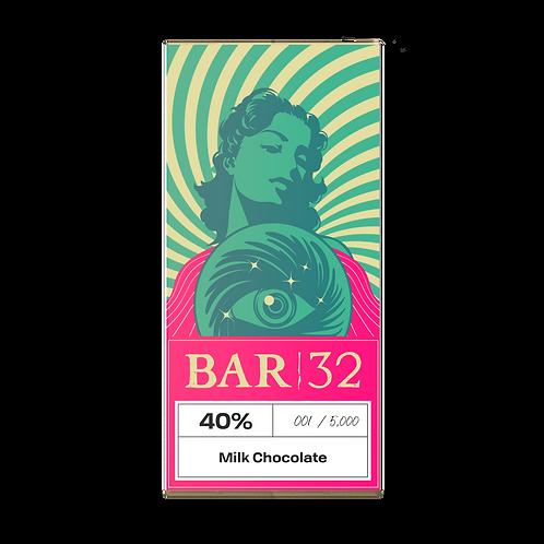 Small Batch 40% Milk Chocolate Bar