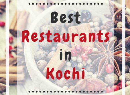 Best Restaurants in Kochi you should not miss