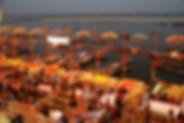 Ganges-The Ghats in Varanasi
