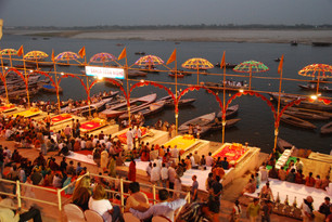 Ganges-The Ghats in Varanasi