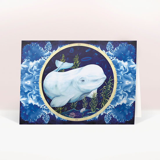 BELUGA - GREETINGS CARD