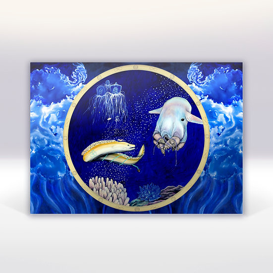 DUMBO OCTOPUS - ART CARD