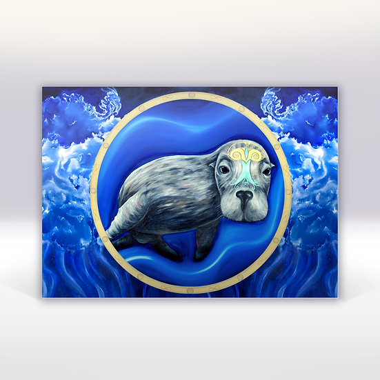SEA LION - ART CARD