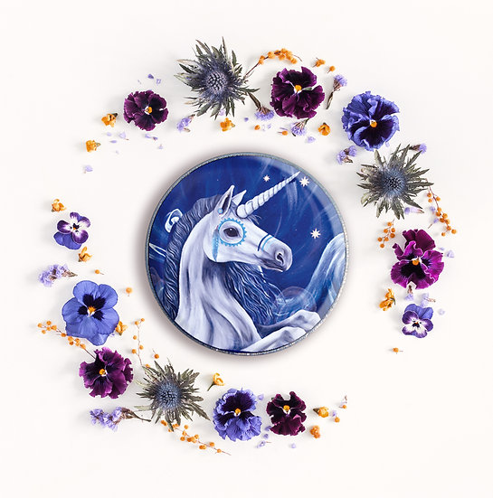 HIPPOCAMPUS - ART BADGE