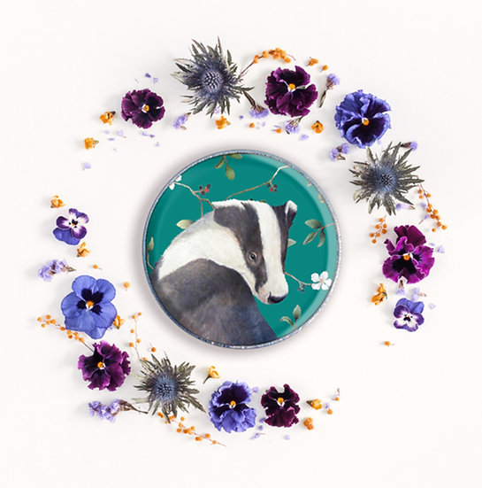 BODRUM BADGER - ART BADGE