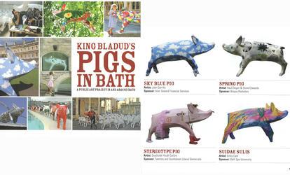 KING BLADUD'S PIGS IN BATH
