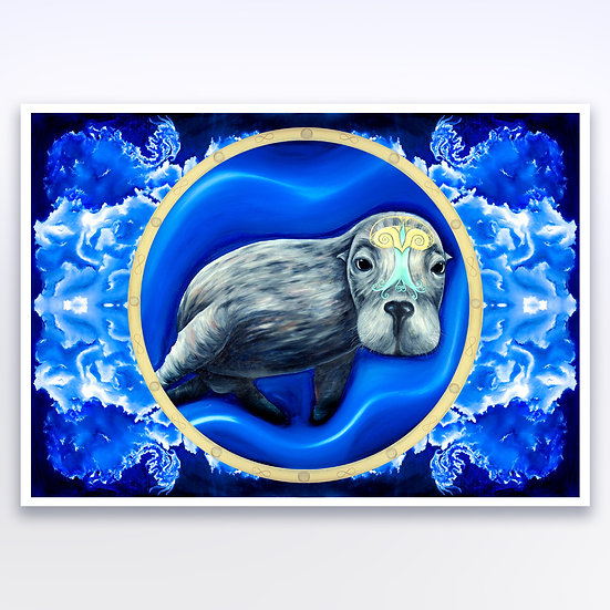 SEA LION - ART PRINT