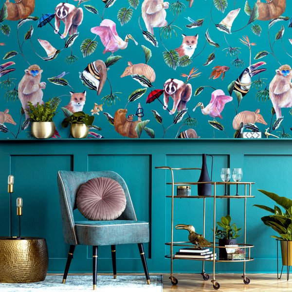 Bohemian Palms Teal Room  smaller.jpg