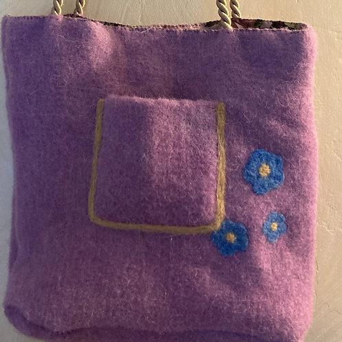 Lavender Shoulder Bag