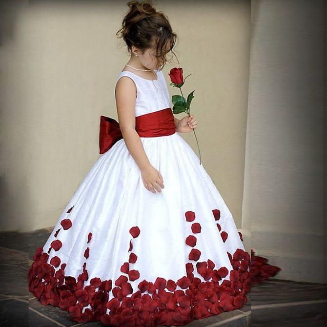 Vestido de daminha de honra