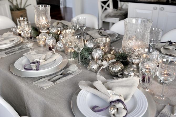 Dicas e fotos de exemplos de decoração para a mesa de Ano Novo para você se inspirar