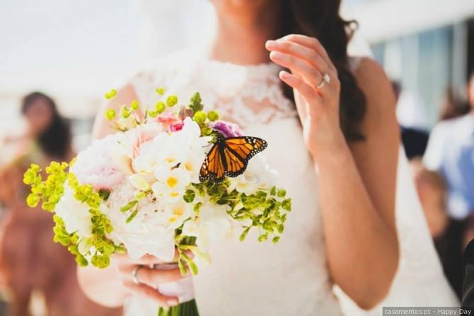 Ideias originais para lançar o bouquet de noiva