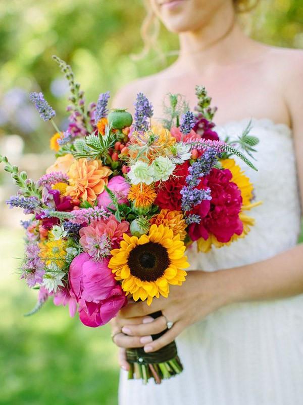 Significado das flores no buquê de noiva