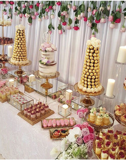 Personalized Sweet Table.