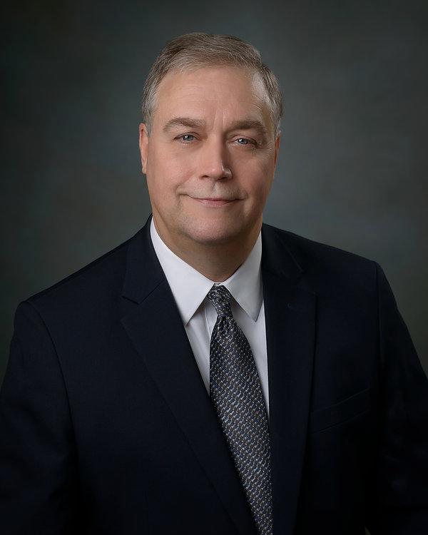 Business Headshot Portrait by Evansville Photographer Tim Bennett