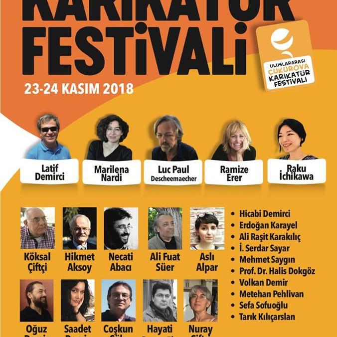 3. Uluslararası Çukurova Karikatür Festivali