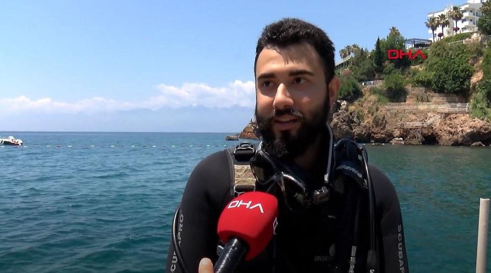 DHA Alican Abacı Su Altı Kirliliği Röportajı