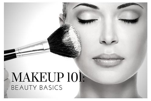 MAKEUP 101: BEAUTY BASICS