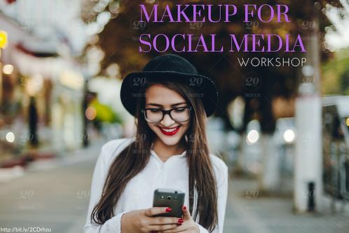 MAKEUP FOR SOCIAL MEDIA