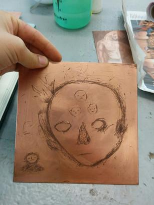 atelier circulaire (gravure / engraving)