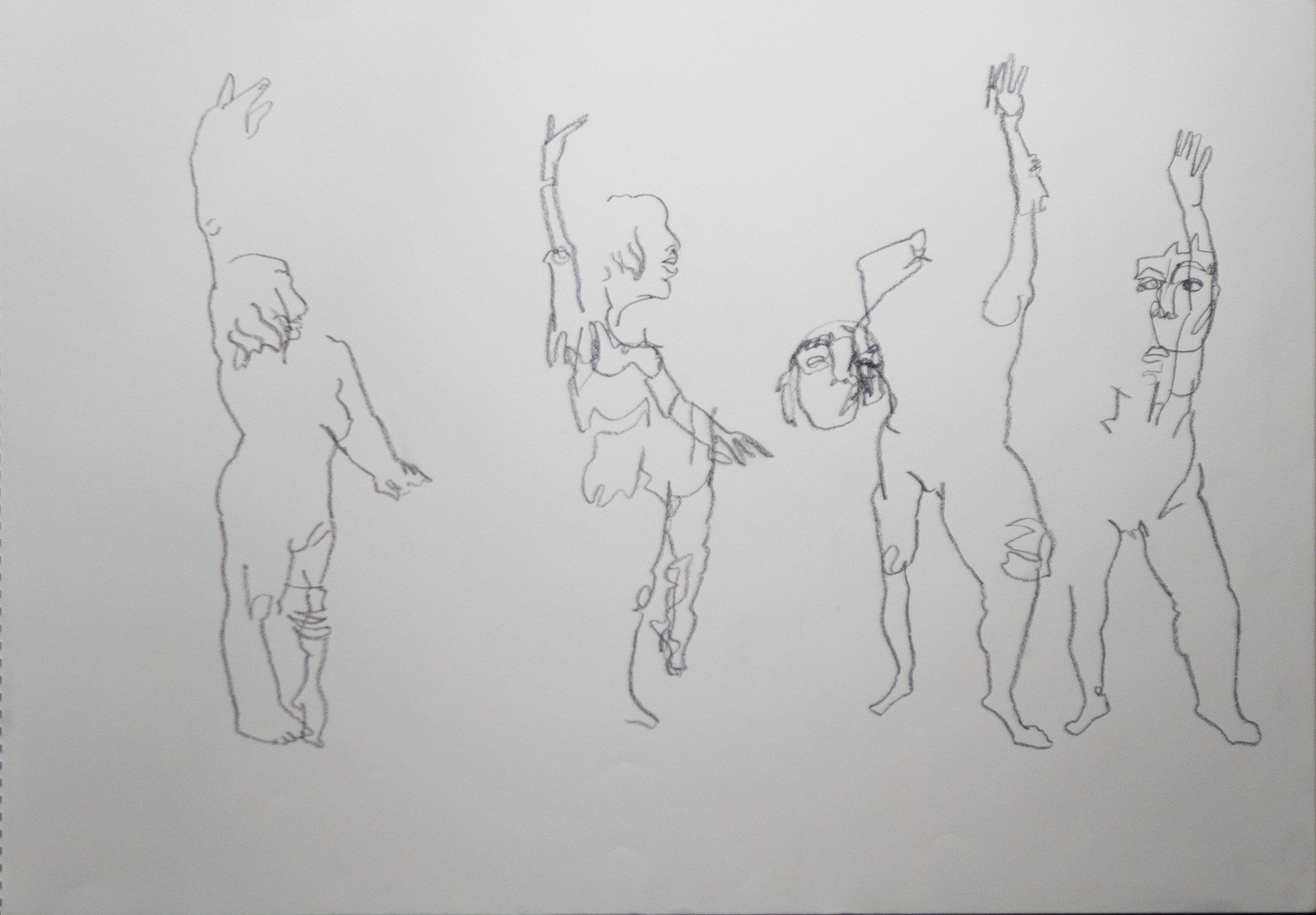 Margot-dessin à l_aveugle