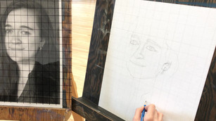 cours de dessin de modèle vivant / figure drawing class