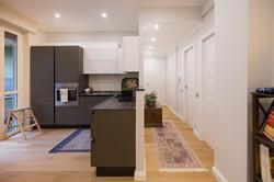 vista del open space cucina