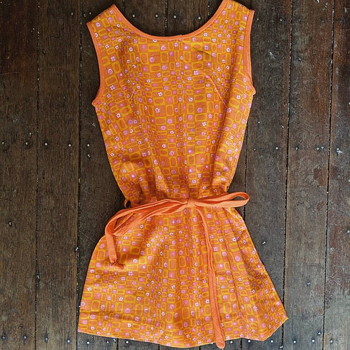 60's Cotton Dress