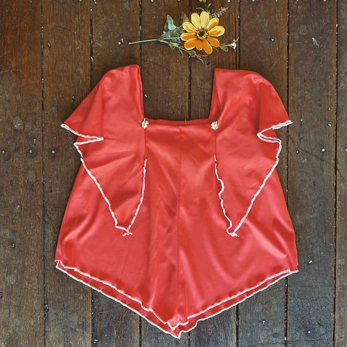 1970's Sweet Cape Top