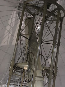 © George Abraham, Merz Refractor inside the Great Equitorial Building, Royal Observatory Greenwich