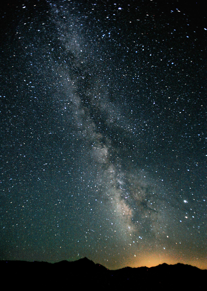 Milky Way over Black Rock Desert, Nevada, USA