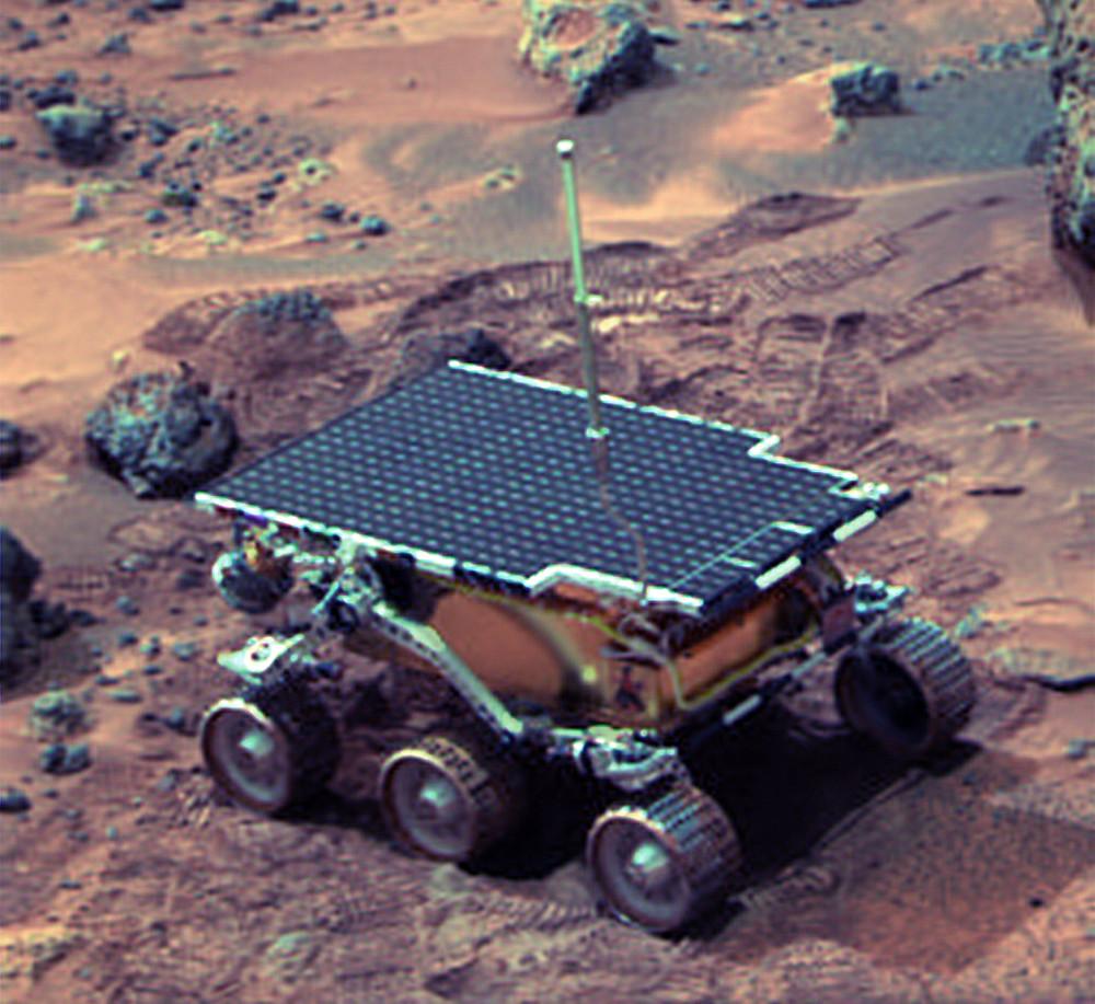 Sojourner on Mars
