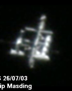 "© Phil Masding  ISS 26/07/2003 ""Most detailed yet"""
