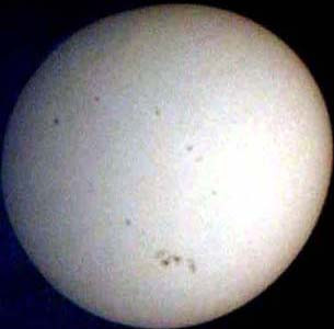 The Sun on the 28th March 2001