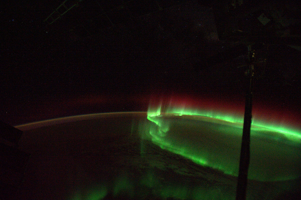 Aurora from Space